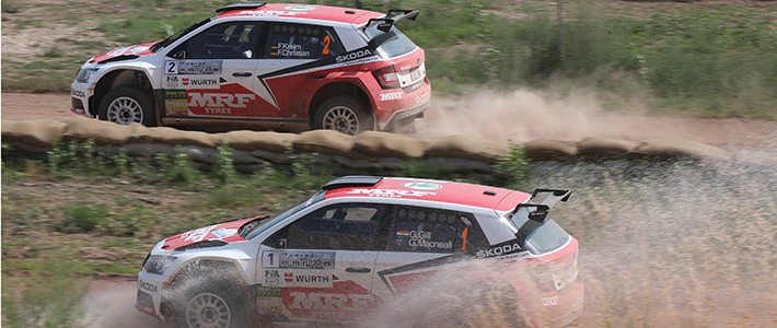 Team MRF's APRC battle resumes in Japan