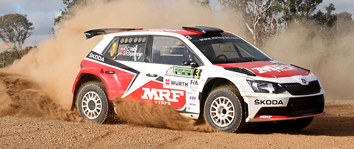 Veiby takes Canberra win and APRC lead